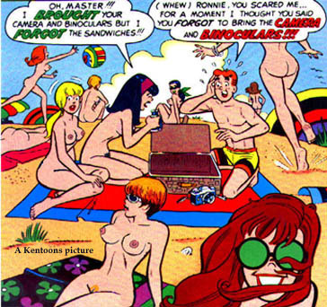 veronica betty and Alvin and the chipmunks naked sex