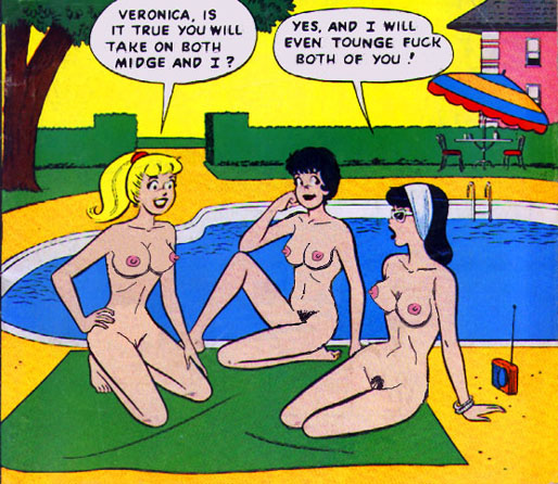 betty veronica and Rick and morty nude summer