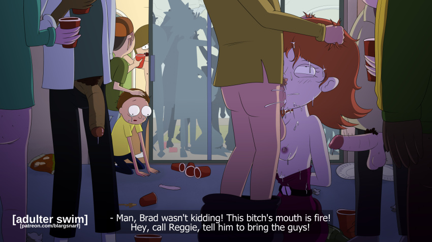 morty rick summer and naked Valkyrie drive mermaid lady j
